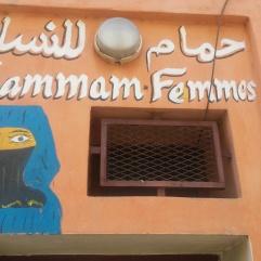 Hammam locale, Marrakech 2016
