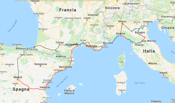 mappa completa