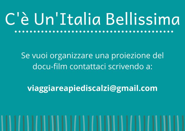 Se vuoi organizzare una proiezione del docu-film contattaci scrivendo a_ viaggiareapiediscalzi@gmail.com